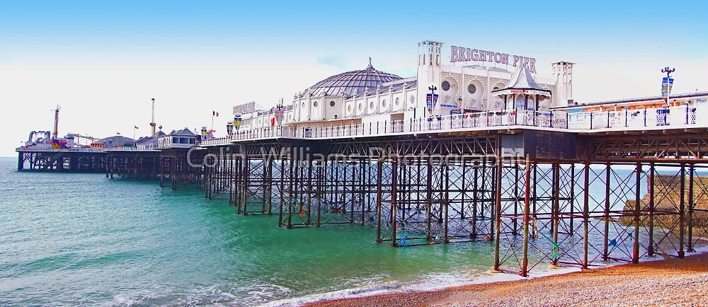 "Brighton Pier - The ""Palace Pier"" by Colin  Williams Photography"