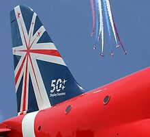 The Red Arrows - 50 Display Seasons - 2014 - Through The Lens by Colin  Williams Photography