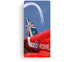 The Reds - 50 Display Seasons - Farnborough 2014 Canvas Print