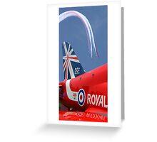 The Reds - 50 Display Seasons - Farnborough 2014 Greeting Card
