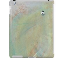 Quiet conversation with the moon on a misty morning iPad Case/Skin