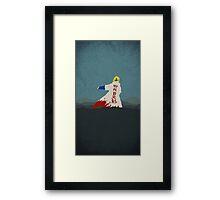 Naruto Minato minimalist  Framed Print