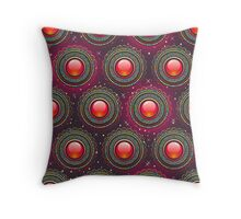 Structure colourful abstract background Throw Pillow