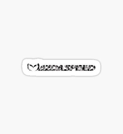 Mazdaspeed Digital Camo Sticker