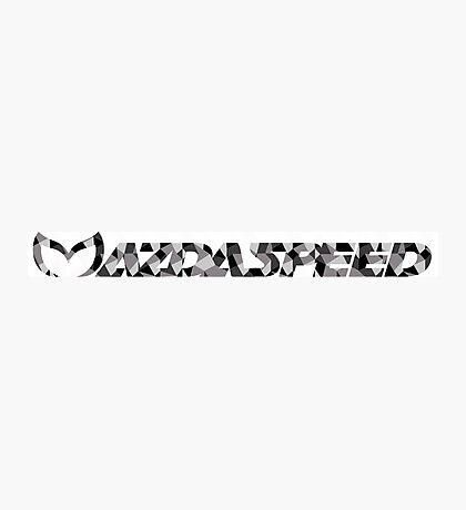 Mazdaspeed Digital Camo Photographic Print