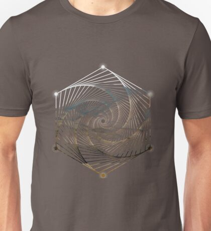 CENTER OF THE EARTH Unisex T-Shirt