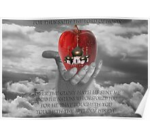 Israel The Apple Of God's Eye  Poster
