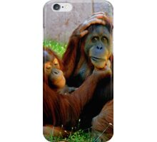 Sumatran Orangutan iPhone Case/Skin