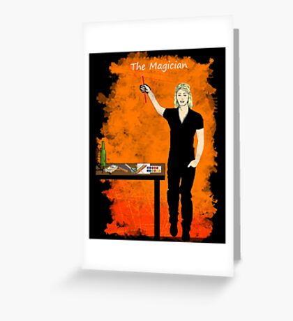 The Magician Greeting Card