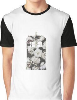 Floral Tardis Graphic T-Shirt
