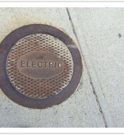 Sidewalk Cap Sticker