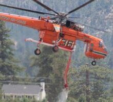 Cal-Fire Helicopter - Sawtooth Fire Sticker