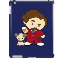 Hello Burgundy iPad Case/Skin
