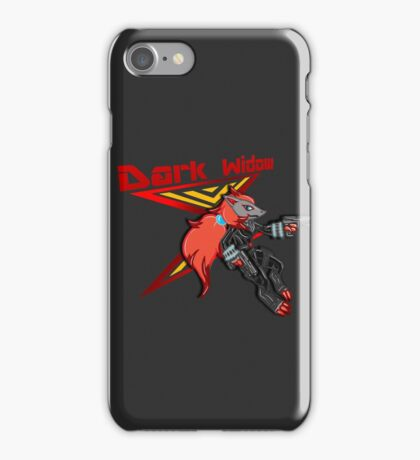 Dark Widow iPhone Case/Skin