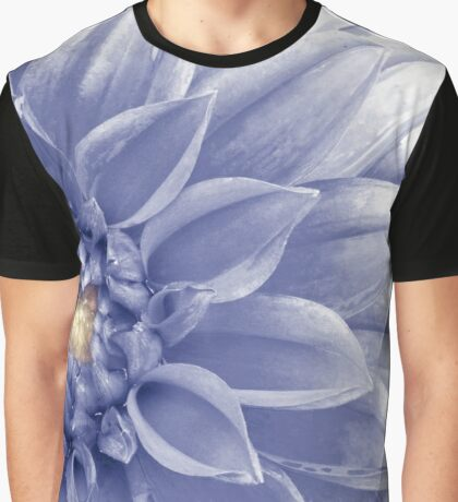 Blue Dahlia Graphic T-Shirt