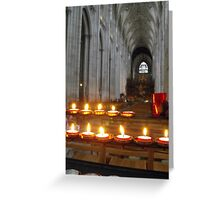 Holy Moment Greeting Card