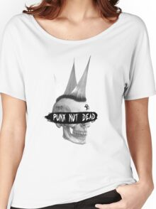 Punx not dead Women's Relaxed Fit T-Shirt