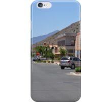 Arizona Street - Old Warren Division of Bisbee iPhone Case/Skin