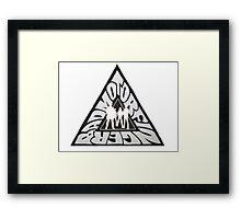 BADMOTORFINGER Framed Print