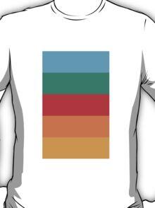 Wes Anderson Palette (Darjeeling Limited) T-Shirt