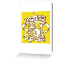 Penny & Yollo - Party Entertainers Greeting Card