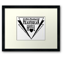 Elvis Presley's Heartbreak Hotel Framed Print