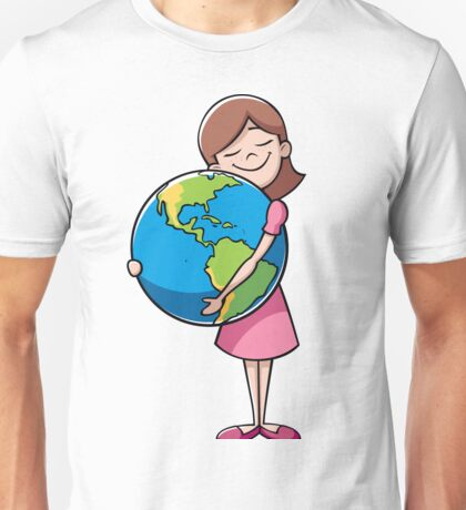 Child and Earth Unisex T-Shirt