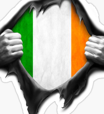 Ireland Flag. Proud Irish Sticker