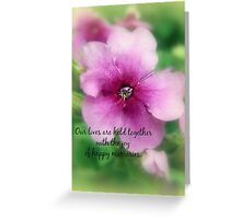 Our Happy Memories Greeting Card