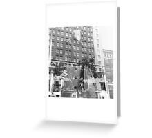 Mannequin in the City Greeting Card