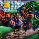 New Rooster by JacquelynsArt