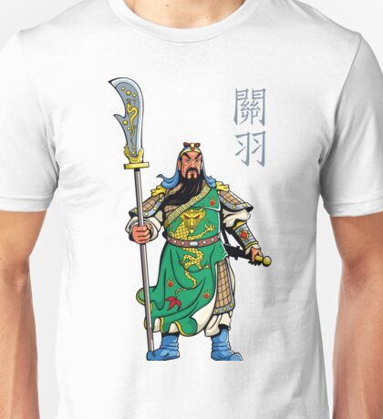 Chinese Warrior Unisex T-Shirt