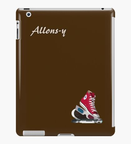Allons-y - Doctor Who iPad Case/Skin
