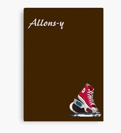 Allons-y - Doctor Who Canvas Print