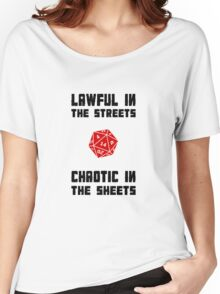 Lawful Chaotic Women's Relaxed Fit T-Shirt