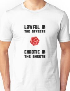 Lawful Chaotic Unisex T-Shirt