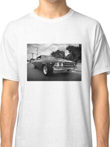 1969 Chevy Chevelle SS b&w Classic T-Shirt