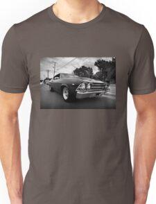 1969 Chevy Chevelle SS b&w Unisex T-Shirt