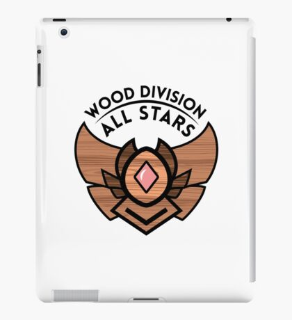 WOOD DIVISION ALL STARS iPad Case/Skin