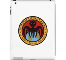 The spectre of the NSA (color) iPad Case/Skin