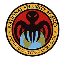 The spectre of the NSA (color) Photographic Print