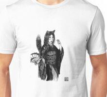 Dancing Kitsune Girl Unisex T-Shirt