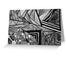 Geometric 1 Greeting Card