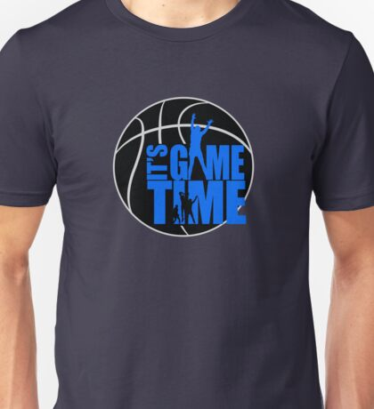 It's Game Time - Blue Unisex T-Shirt
