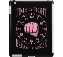 Time to Fight Breast Cancer iPad Case/Skin