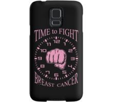 Time to Fight Breast Cancer Samsung Galaxy Case/Skin