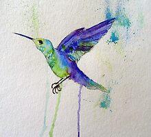 Hummingbird  by JamieEArtist