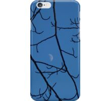 Moon Peaking Through the Branches iPhone Case/Skin