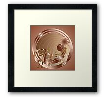 Copper Portal Framed Print