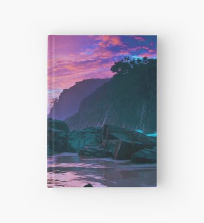 Australia Sunset Hardcover Journal